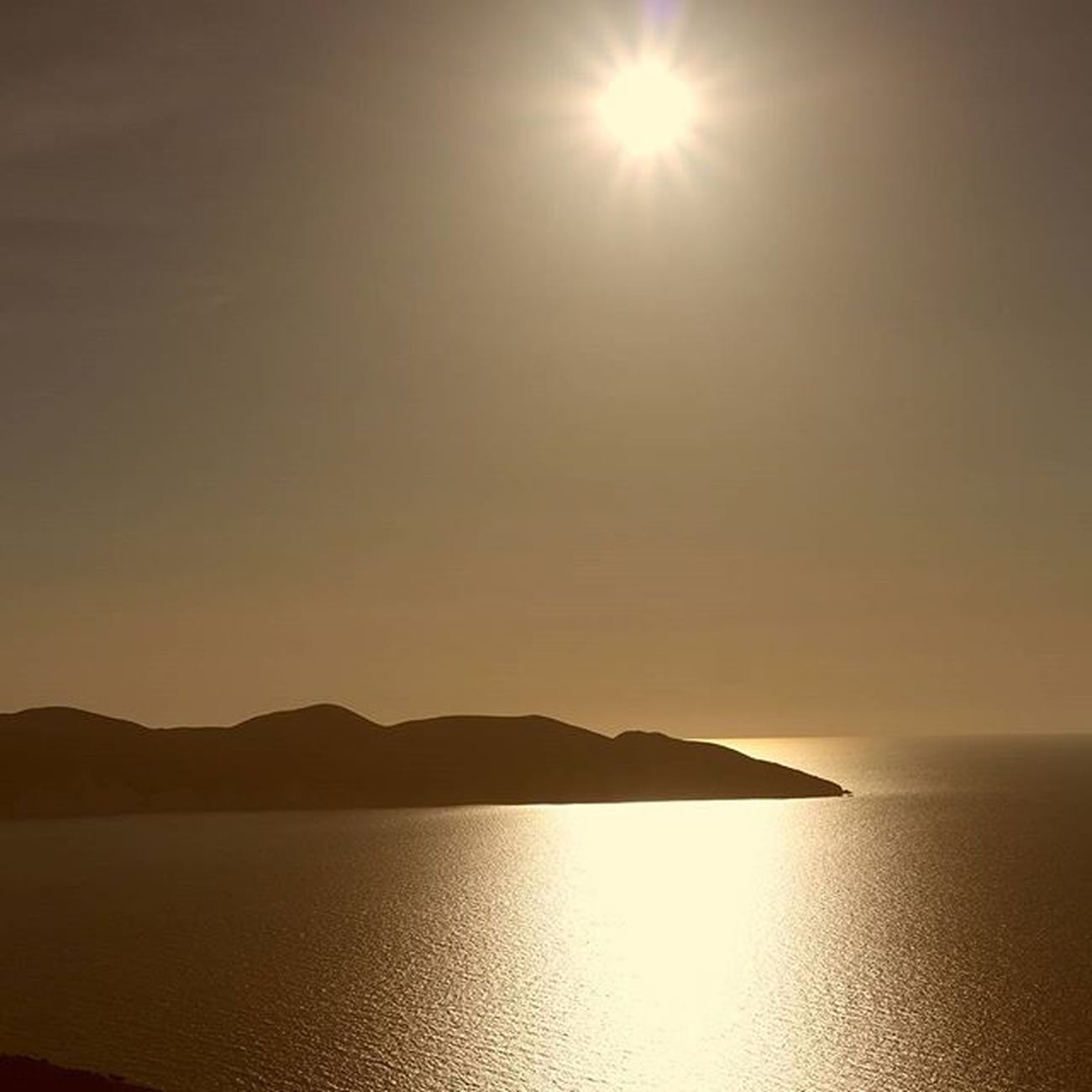 Myrtos Beach Kefalonia Sunset Summer2015 Greece Summer