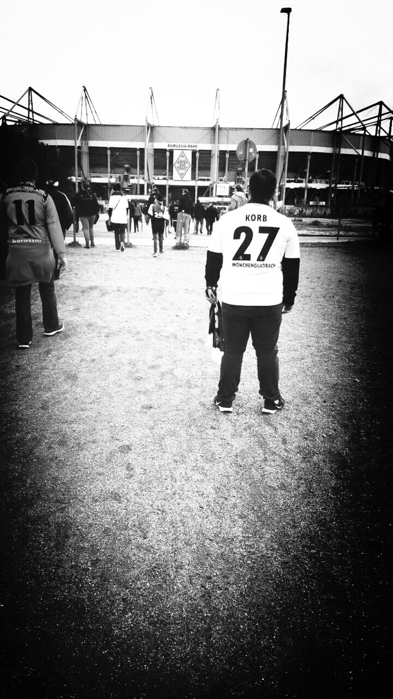 First Eyeem Photo Borussia Mönchengladbach 💪💚 Borussia Park Bundesliga