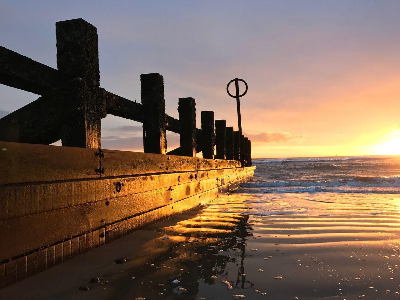 Sea Water Sky No People Scenics Beach Sunrise_sunsets_aroundworld Sunrise Aberdeen Scotland Northeast