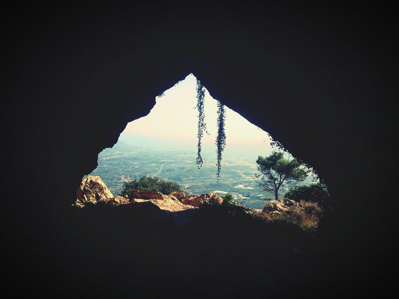 Hidden Gems  Foratdealtea Hole In The Wall Cave Bernia Altea Benidorm Landscape EyeEm Nature Lover Peaceful Landscape_photography Sony Xperia Z2 Sony Xperia Photography. Mobile Photography