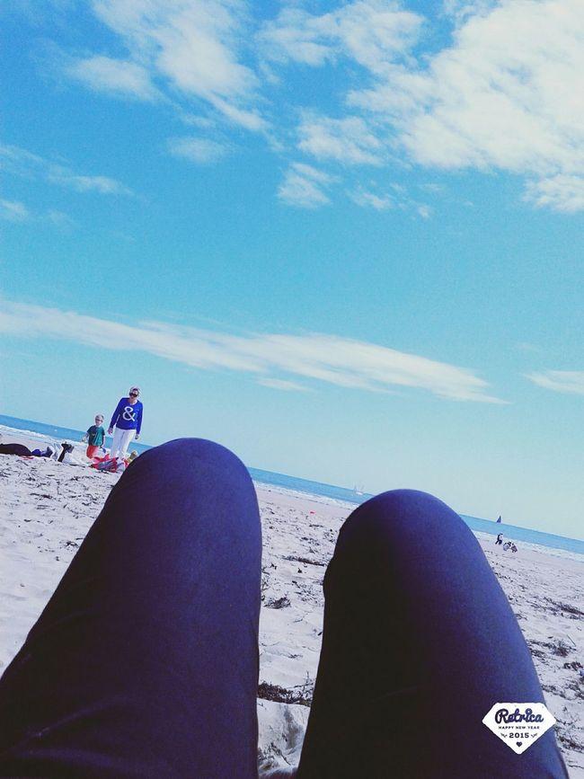 Enjoying the beach 🌞🌊 Beach Tanning Time Nape Time