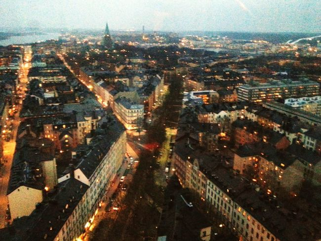 In heaven City Stockholm