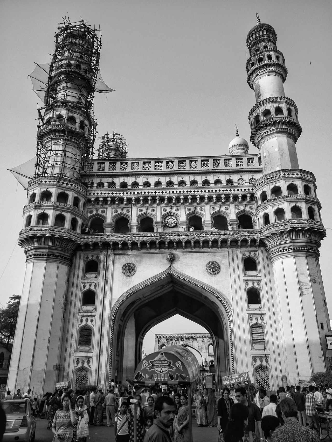 Architecture City Travel Destinations Tourism History Cultures Built Structure Building Exterior Outdoors Day First Eyeem Photo Blackandwhite Oneplus 2 Eyeemphoto Indian India EyeEm Bnw EyeEm Place Of Worship EyeEmNewHere Hyderabad Charminar Hyderabad Hyderabad,India Hyderabaddiaries Hyderabad, India