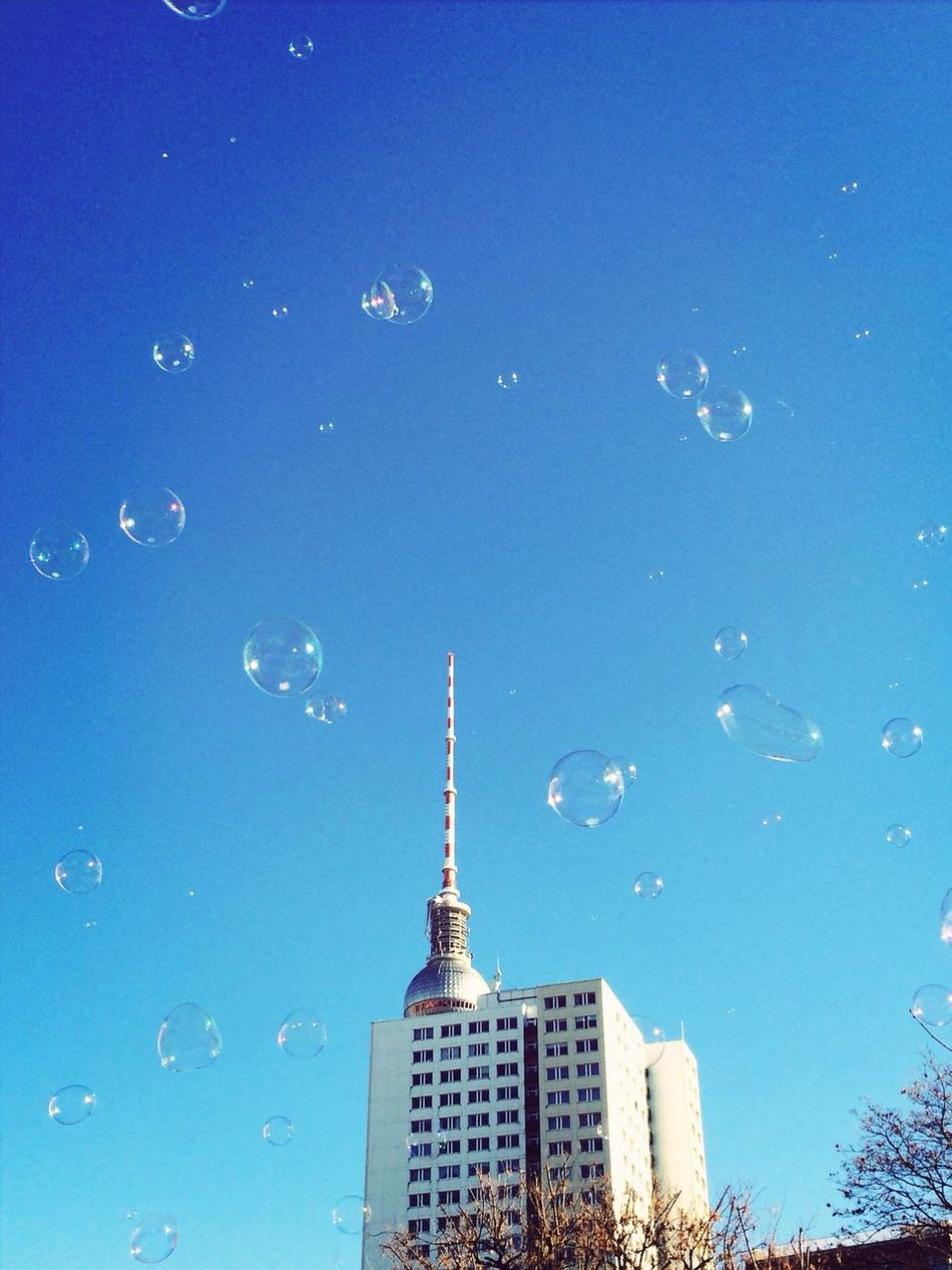 Beautiful stock photos of bubbles, Architectural Style, Architecture, Blue Sky, Bright
