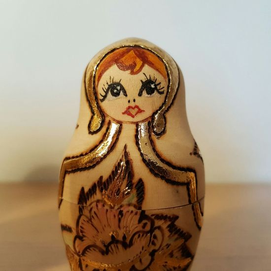 Close-up No People Cultures Outdoors Day Colection Colections Figurine  Figurines  Anthropomorphic Face Mamushka Lieblingsteil Matrioska Matrioszka Single Object Russian Dolls Russia
