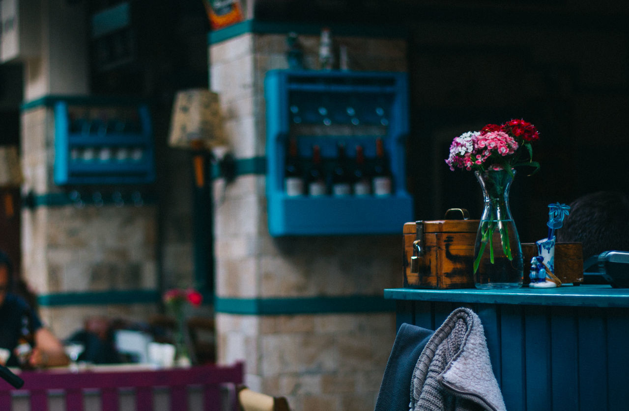 Beautiful stock photos of restaurant, Balcony, Box - Container, Chair, Fabric