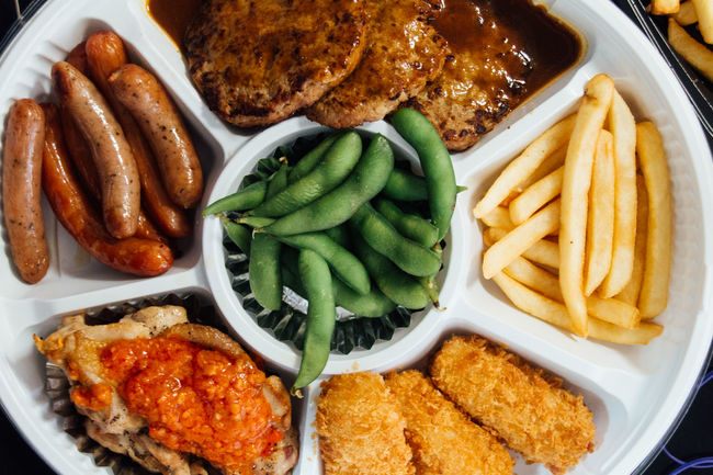 Choice Close-up Cooked Dinner Eat Enjoy Food Foodie French Fries Freshness Hamburg Steak Happy Time Indulgence Meal Mealtime Meat Party Time Potato Ready-to-eat Rows Of Things Sausage Serving Size Show Us Your Takeaway! Taste Good Variation