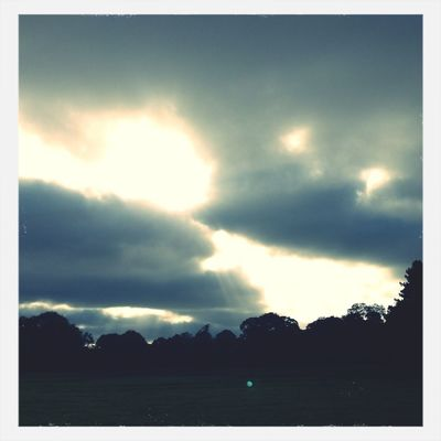 skyporn at Wythenshawe Hall by Katie Jones