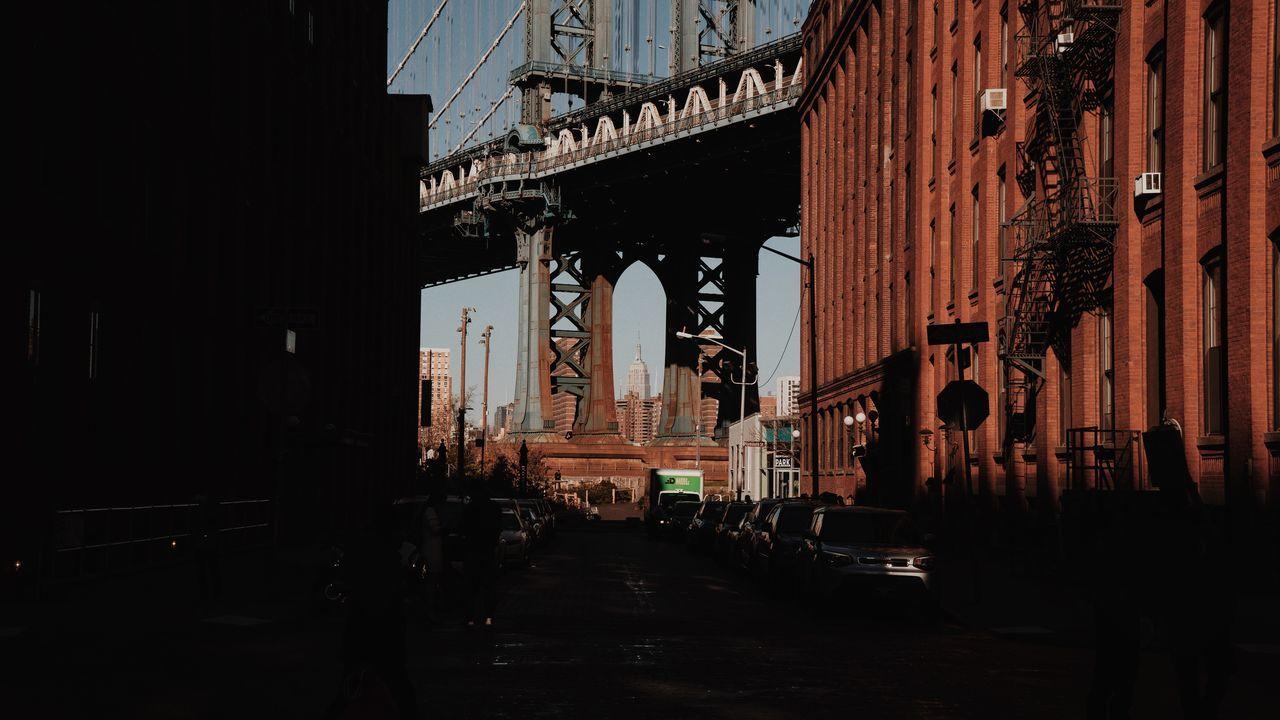 DUMBO, Brooklyn DUMBO Brooklyn Manhattan Bridge New York Downtown Brooklyn Empire State Building