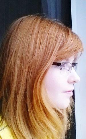 Myself Glasses Portrait Colours Likeforlike Followme Redhair View Girl Window