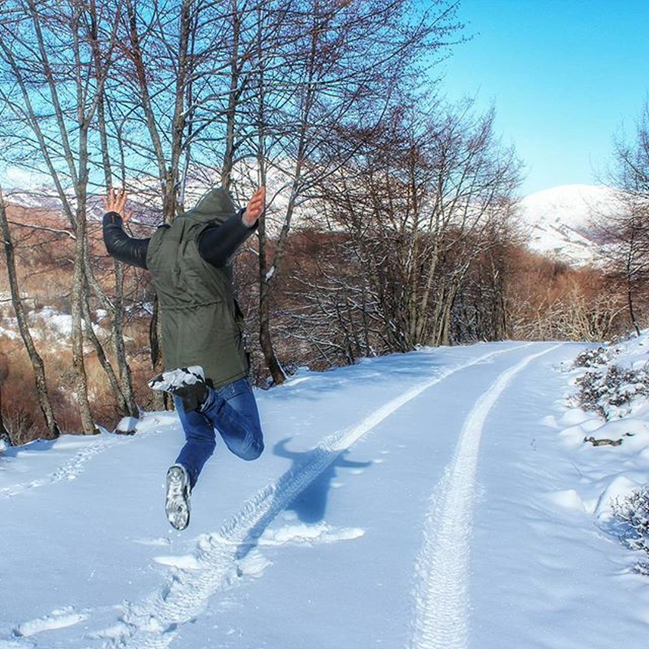 Jumping in the Snow... Myvallo Igers_salerno Igerscampania Igeritalia Dafareasassano Dafareasalerno Dafareincampania Insolitaitalia Campaniafelix Nature Naturelover Instanature Snowday Landscape_lovers Landscape Landscape_captures Landscape_specialist Jumping