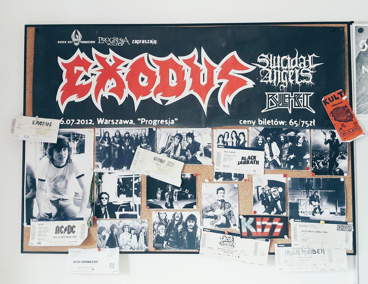 Concert Concerts Memories Metal Rocknroll Rock Metalhead Tickets Ticket Music Love Exodus ACDC Kreator Morbidangel Blacksabbath Judaspriest Ironmaiden Kult Ozzyosbourne VSCO Vscocam