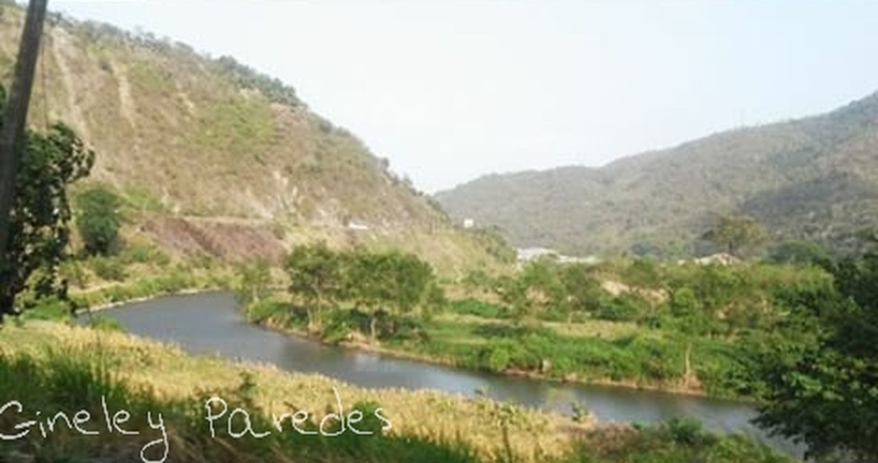 Chamelecon River... Water Lake Day Mountain Nature Tree No People Tranquility Plant Rural Scene Beauty In Nature Sky Photography Nature Photography Nature San Pedro Sula, Honduras Rivers Honduras Nature_collection Nature's Diversities