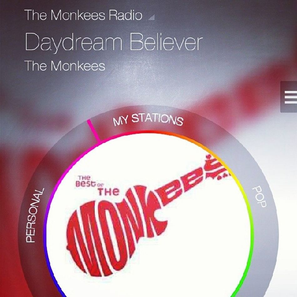 Thank you MilkRadio for giving me this first thing during my lunch break. TheMonkees DaydreamBeliever