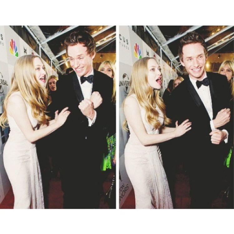 I LOVE them together ?? | AmandaSeyfried EddieRedmayne Lesmiserables