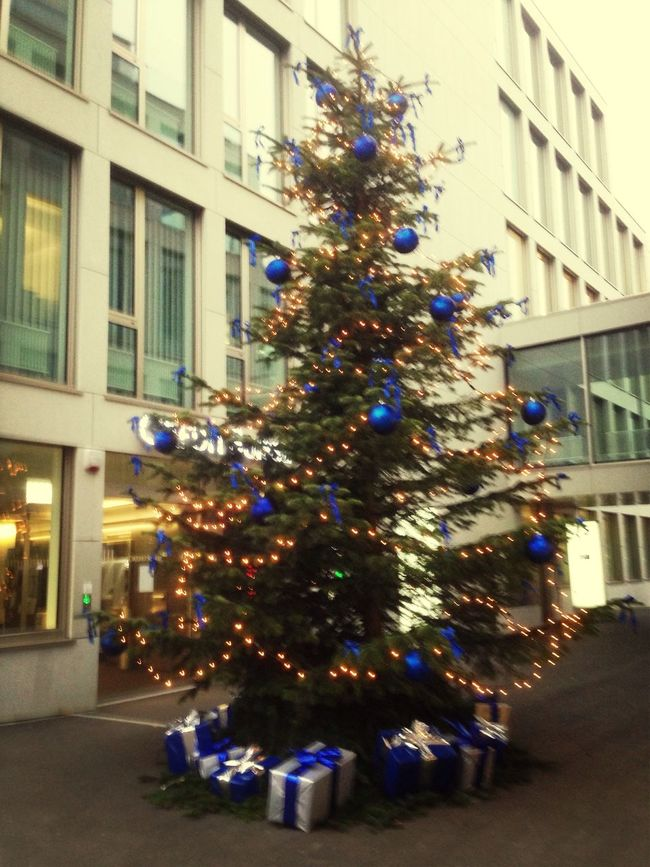 Christmas Tree Boost Filter EyeEmSwiss Walking Around