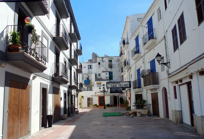 Impressions in ibiza city Eivissa 🍒❤ Impressions In Ibiza City Summer Views Architecture Bluesky Building Exterior Built Structure City Clear Sky Day No People Outdoors Residential Building Sky Summer