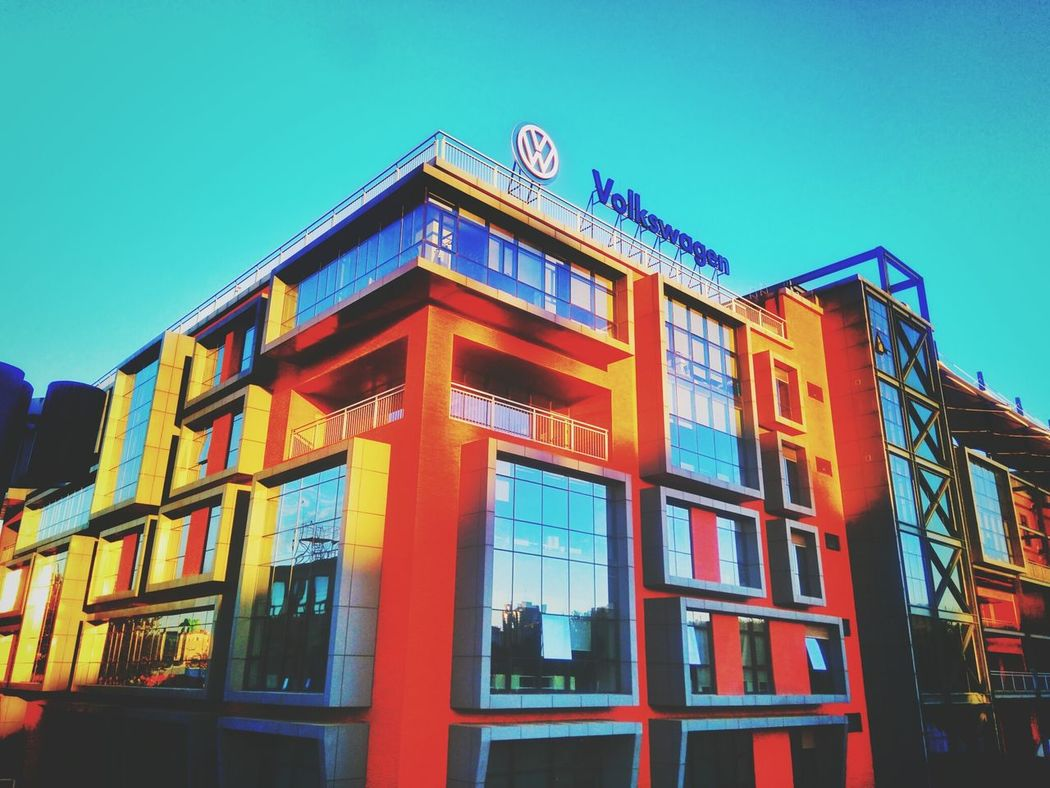 Modern Art Photography Volkswagen Automobile Building 798 Art Zone 798艺术区 Mix Yourself A Good Time EyeEmNewHere
