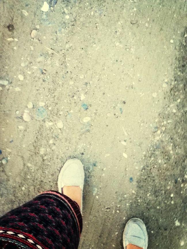 I Take The Road Not Taken!:) So I Take The Road To Awesoms!:) Walking Around My Leggings :) Adorable