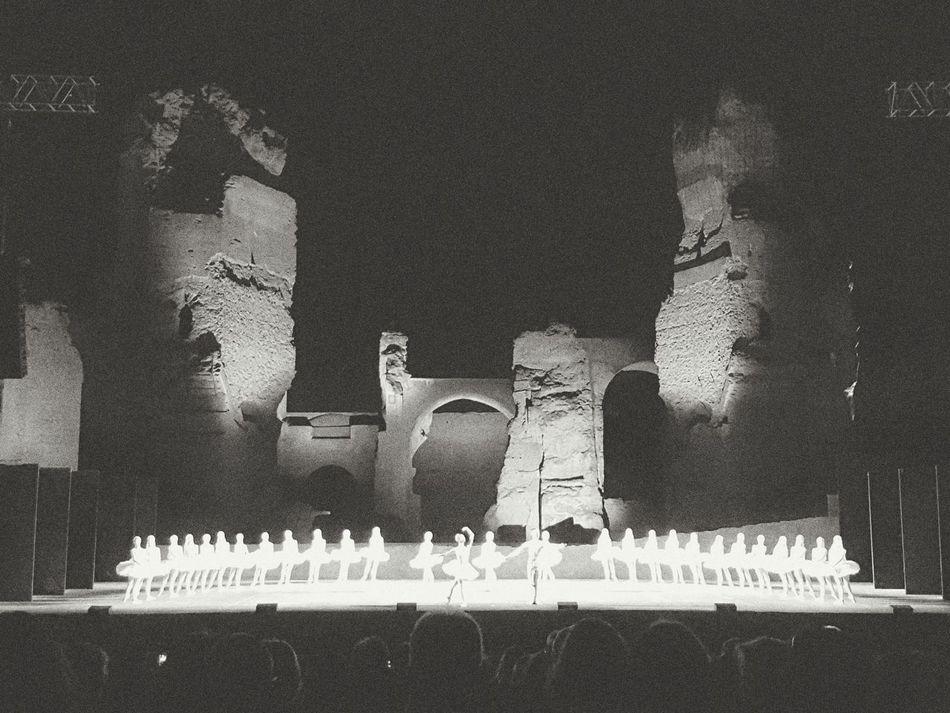 Balet Nureyev Rome Dancer Black And White Classical Music Classical Terme Di Carcalla Showcase June 43 Golden Moments Fine Art Photography