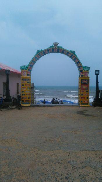The Entrance To Gopalpur Sea Beach
