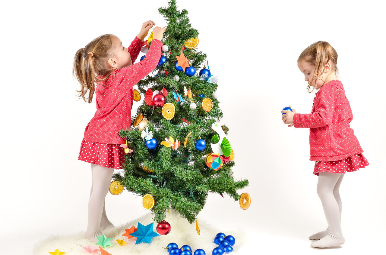 Beautiful stock photos of weihnachten, child, girls, multi colored, childhood