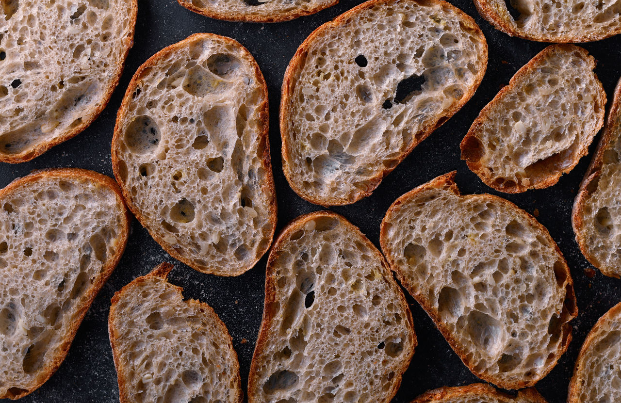 Baked Bread Close-up Day Flatbread  Food Food And Drink Food And Drink Freshness Healthy Eating Indoors  Large Group Of Objects No People Pattern Ready-to-eat SLICE Fresh On Market 2017