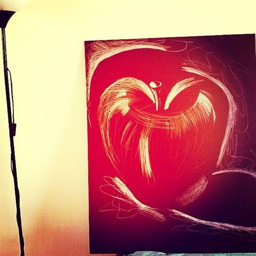 An apple a day... Art Sketch Manila