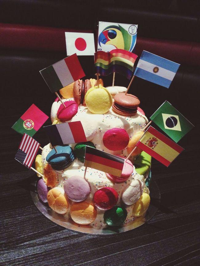 My 2nd cake... Cake Worldcup Kuala Lumpur Having Fun