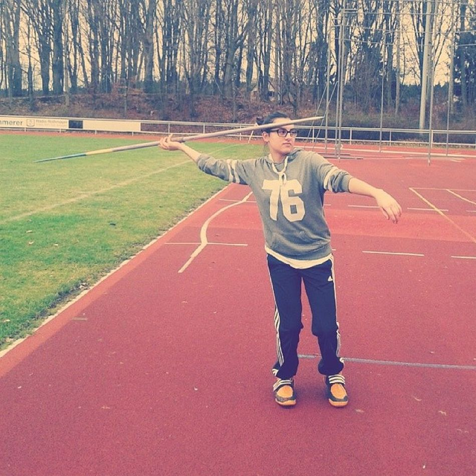 Speerwurf Javelin Training Goodweather wednesdaygirllikesportkissxoxo
