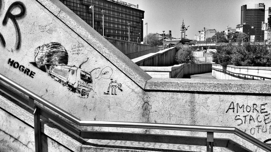 Paesaggi urbani Blackandwhite Black And White Streetphotography Landscape