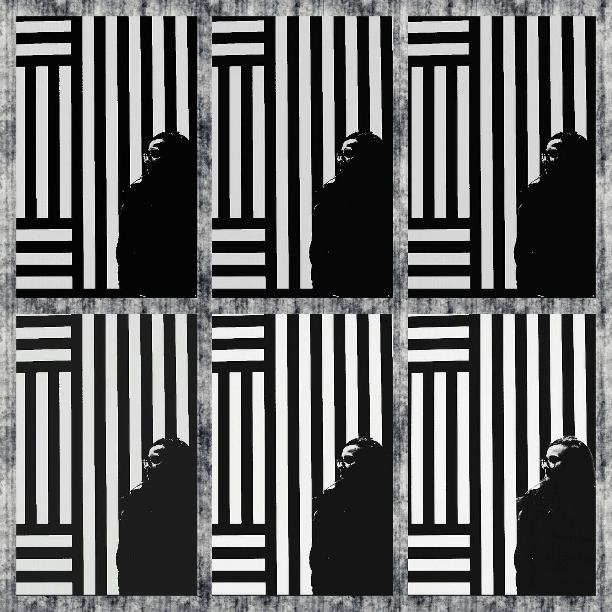 Mission Mystery That's Me Lotsofme Stripes Illusion MET Museum // New York
