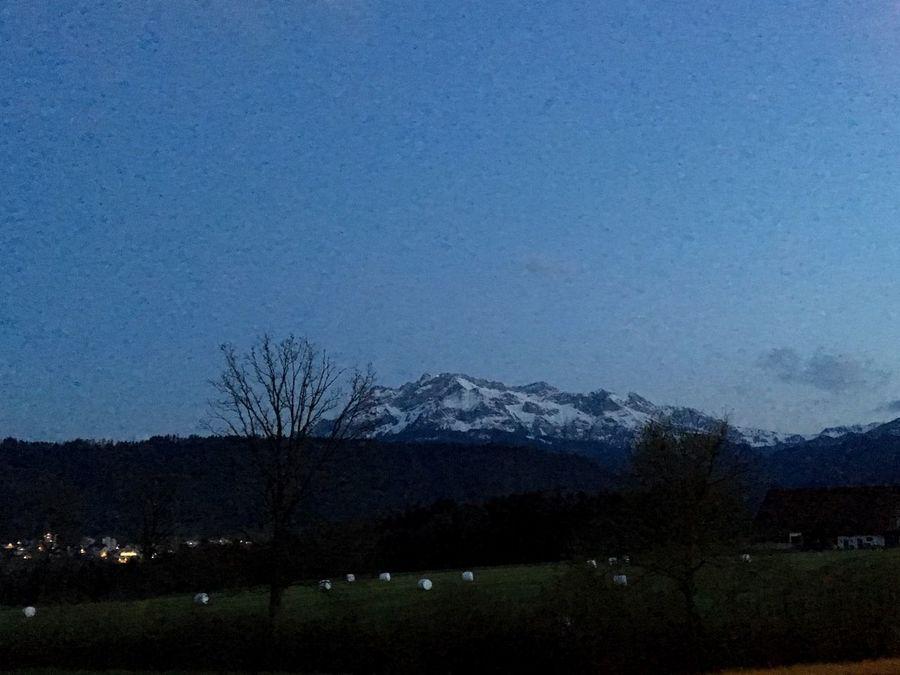 Mt.pilatus Lucerne Night