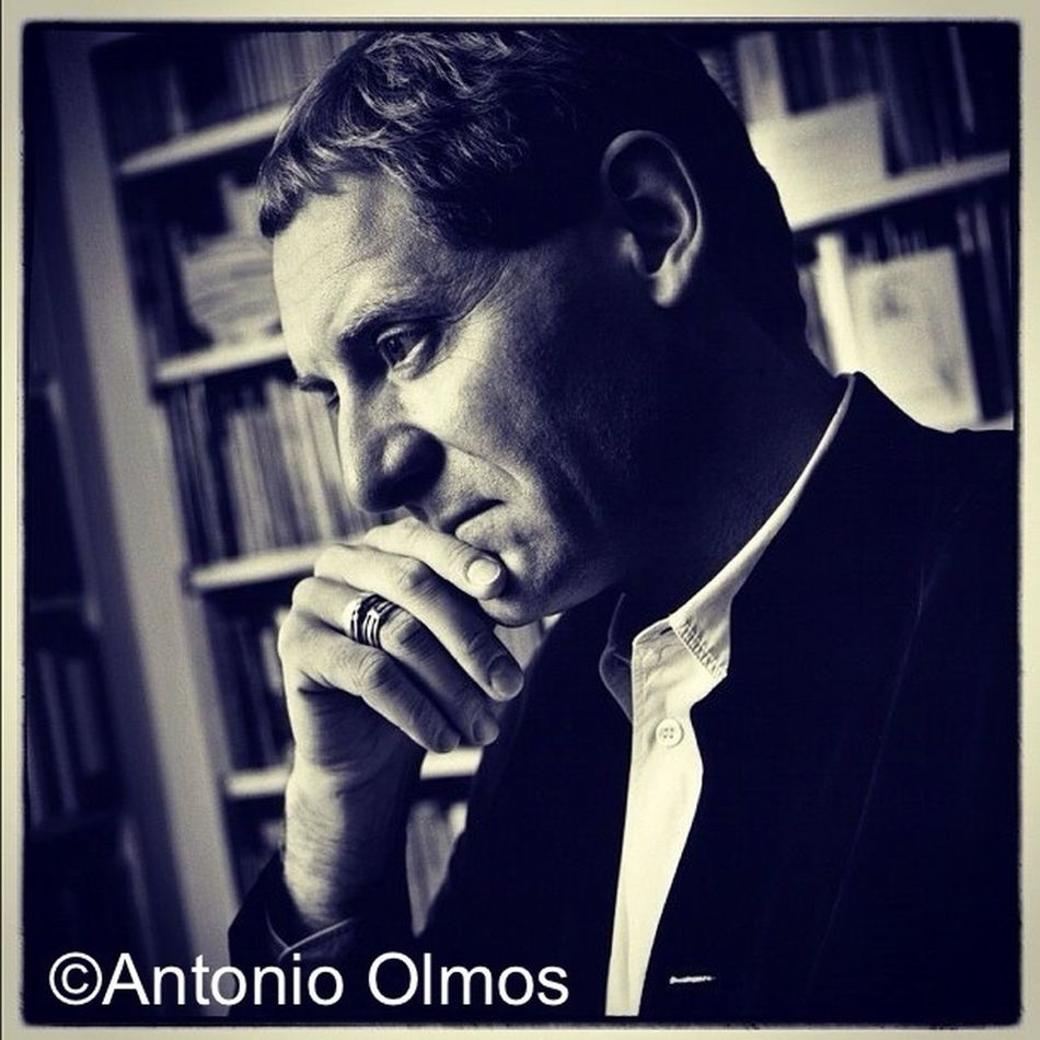 Andrew Motion, poet, photographed by Antonio Olmos