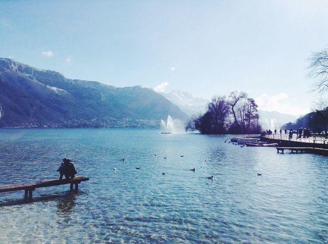 Lake France Sunny Day