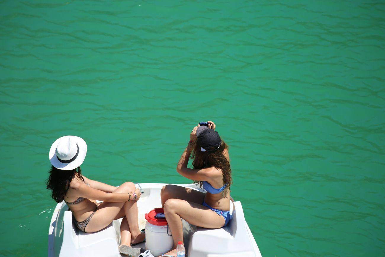 Beautiful stock photos of bikini, Bikini, Bonding, Day, Friendship