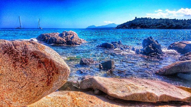 Sea Rocks PortuFrailis Arbatax Ogliastra Sardinia Sardegna Sony XPERIA Sony Xperia Z3compact Xperia Z3 Compact Xperiamoments Xperiaphotography Italy Hanging Out Check This Out Snapseed HDR Relaxing Enjoying Life