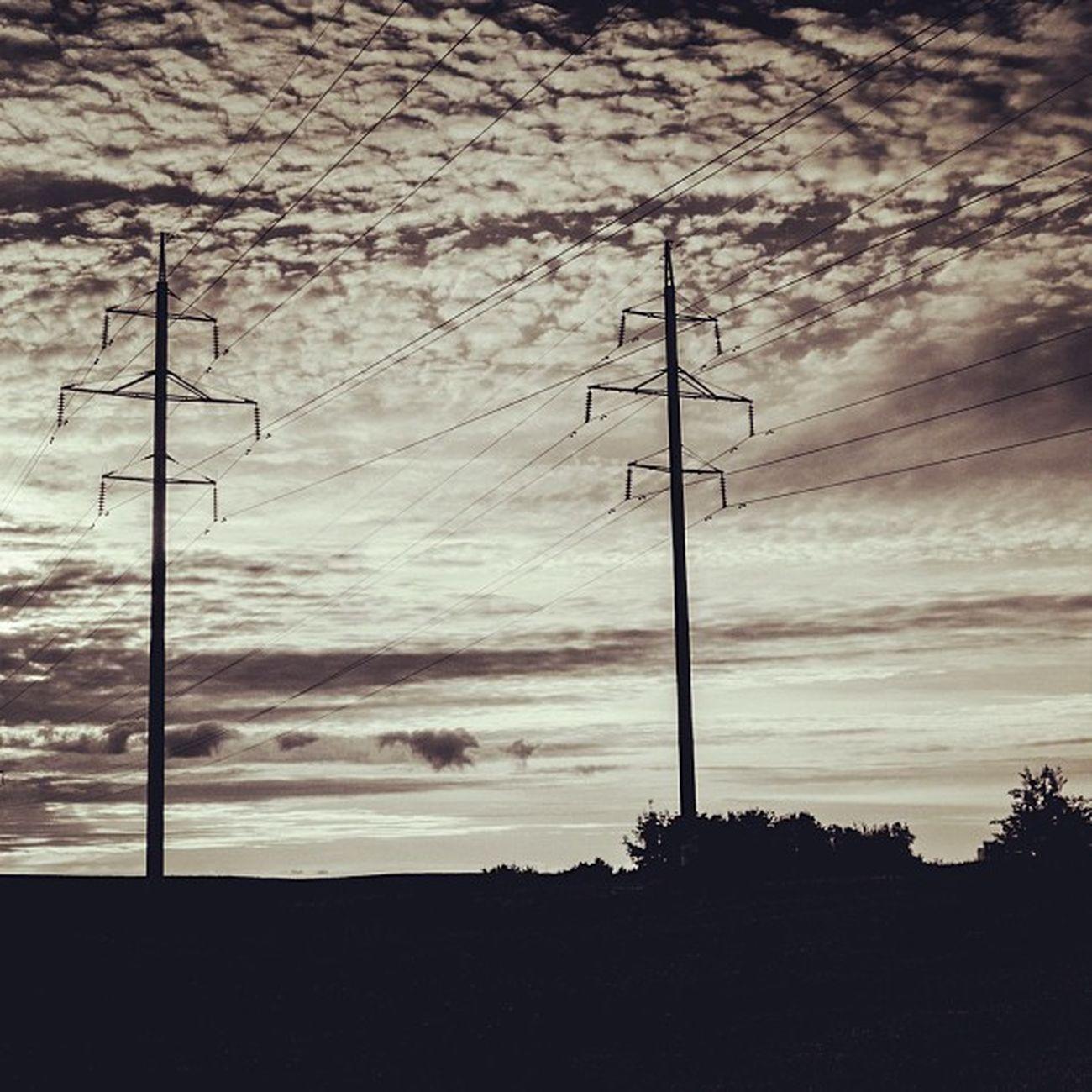 Morning lines Lines Sky Summer Cityminsk morning sun light