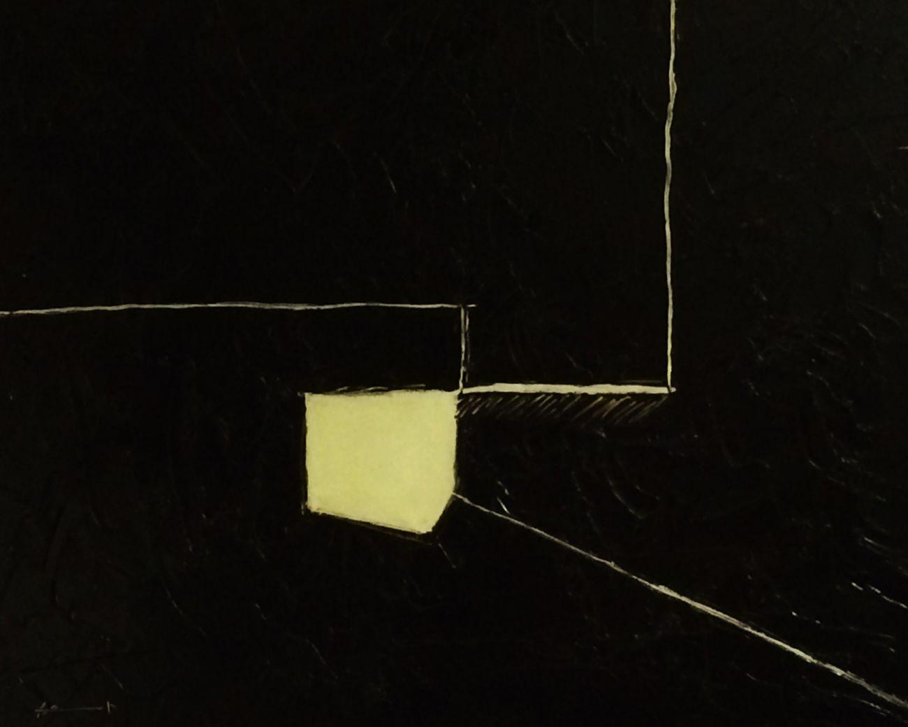 "Série ""volumes centrifuges"" 2015 Labo DTF Painting ArtWork"