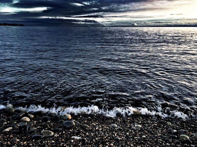 Learn & Shoot: After Dark Eveninglight Reflections And Water Blue Hour Beachphotography Ocean Beach