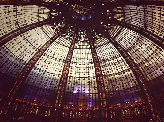 Taking Photos at Galeries Lafayette by Axelle_K