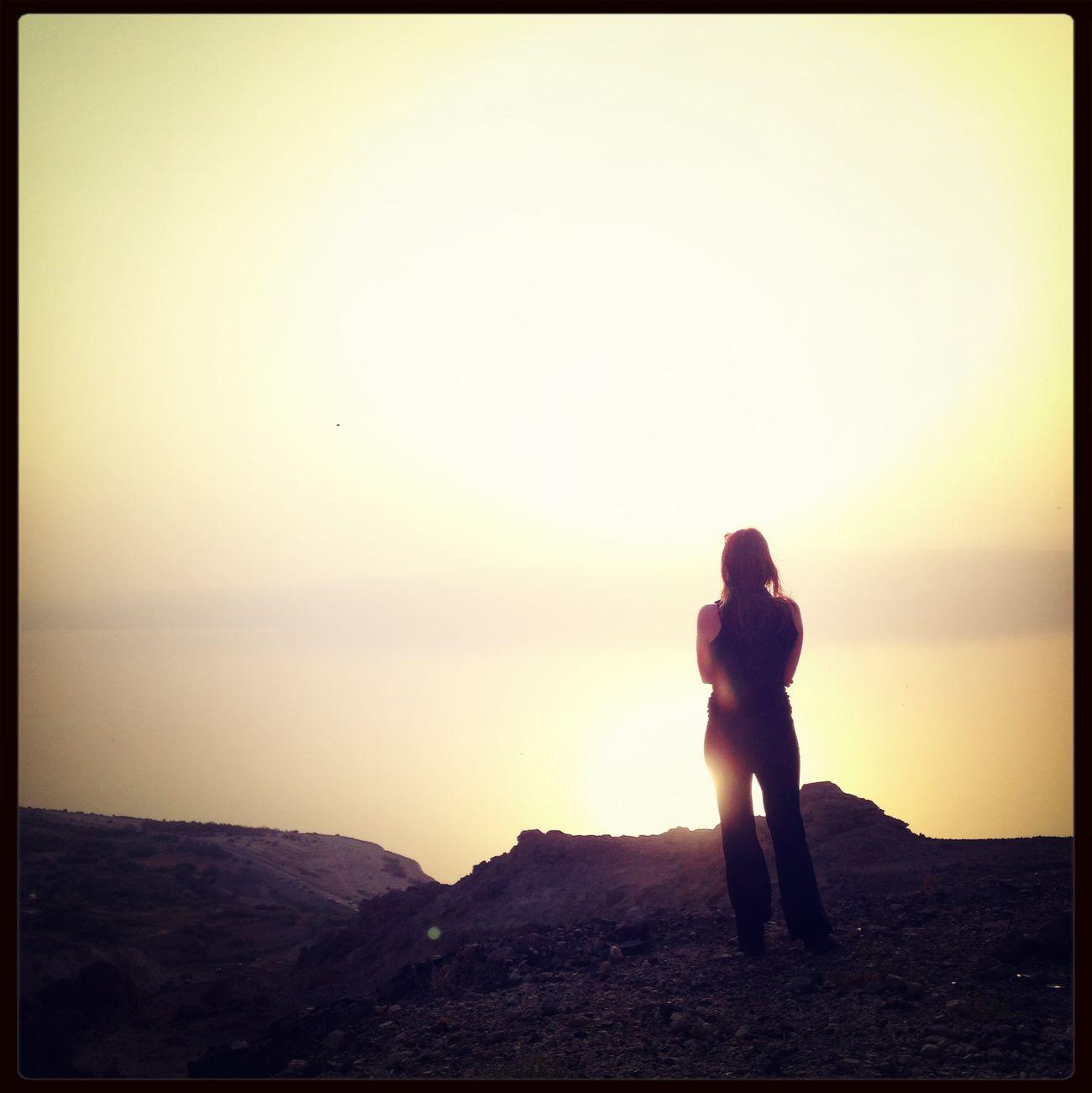 Dead Sea  Jordan Sunset