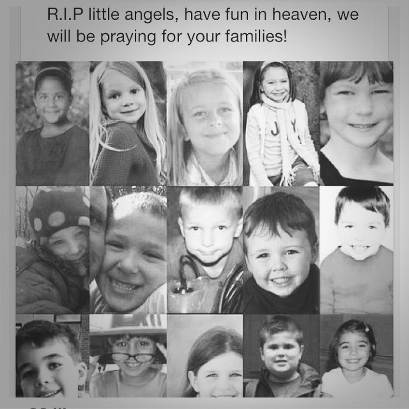 Rip little angles... Have fun in heaven
