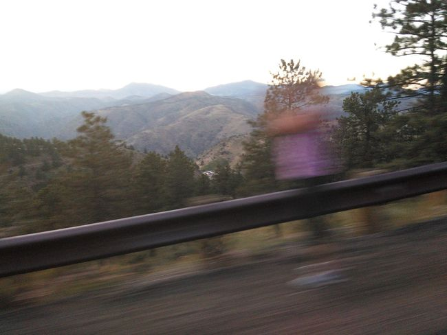 Soul on the road Spirit Lovers Leap No Edit/no Filter Mysterious Eerie The Way Forward Country Road Oddities Spirit Photography Haunted Blurred Motion Journey On The Move Landscape Mountain Silhouette Loversleap Lookout Mountain