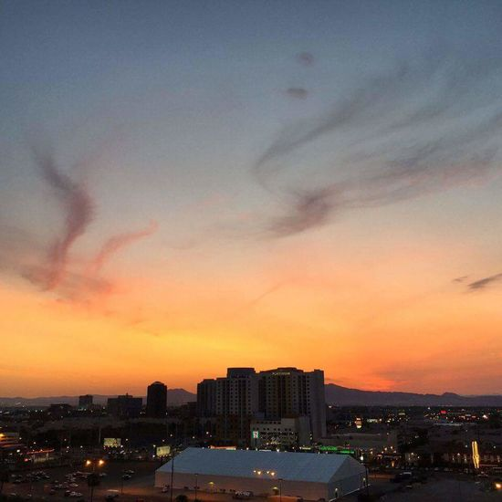 Sky Sunset Lasvegas Evening Sky Colorfulsky Perspective Horizon City Landscape MyPhotography Greattown FromParkingLot Love This City ❤