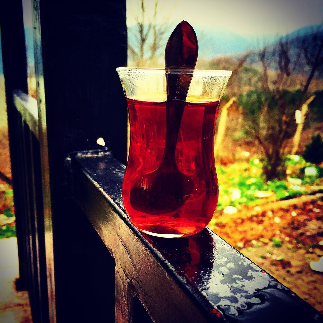 Cay Keyfi Manzarası Güzel Yerlerde Yapılır Daha Iyi Olur 😊 Semaverde çay 😎