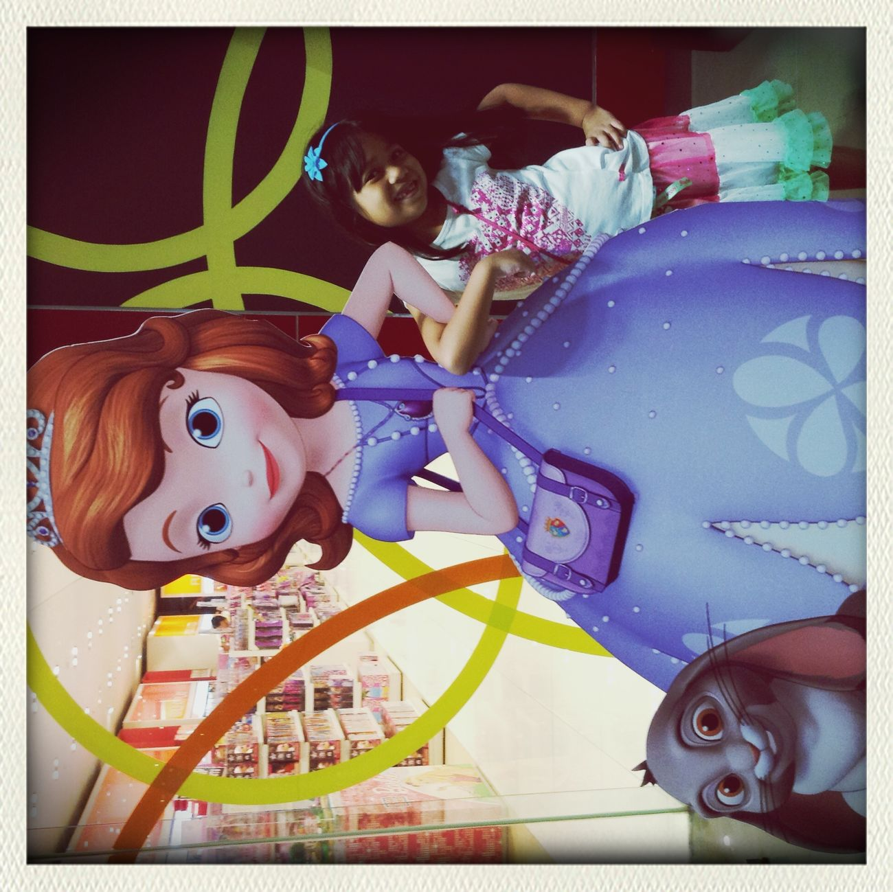 Ishi with her BFF SofiaTheFirst First Eyeem Photo