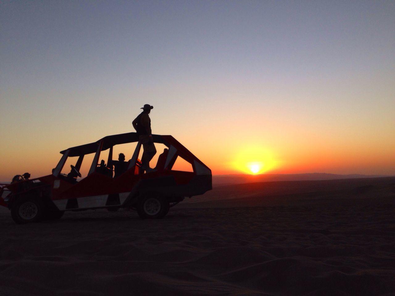 The Great Outdoors - 2016 EyeEm Awards Sandbuggy Silhouette Sunset Desert Sand Dune Huacachina Peru