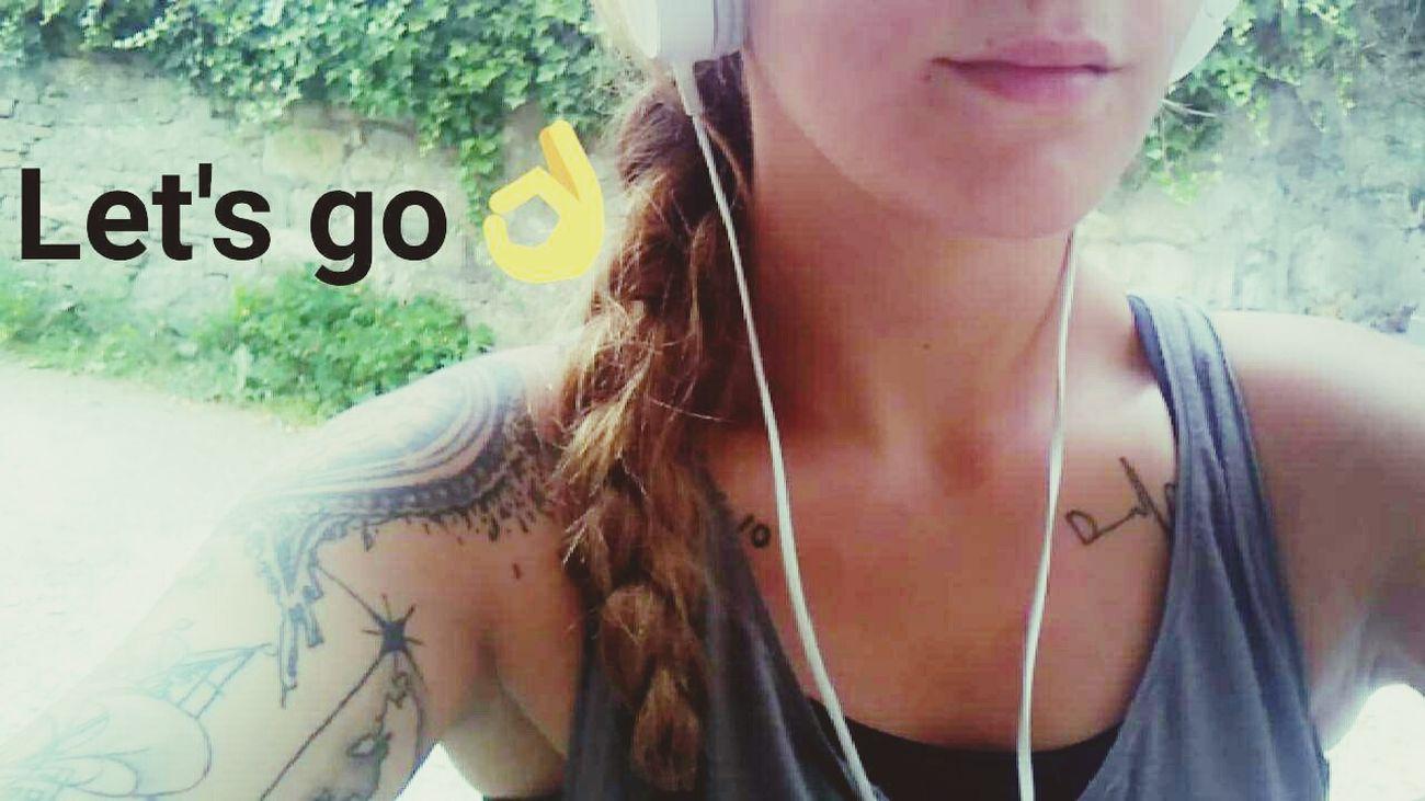 Let'sgo Running Nike✔ Music Sun Goodday France Hello World