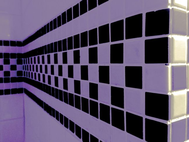Pattern Pattern Pieces Checkered EyeEm Best Shots EyeEm Gallery Week On Eyeem Rest Room Purple Wall